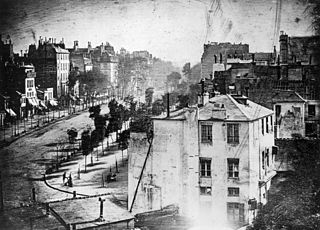 Boulevard du Temple, by Louis Daguerre