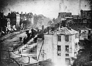 Boulevard du Temple, by Louis Daguerre
