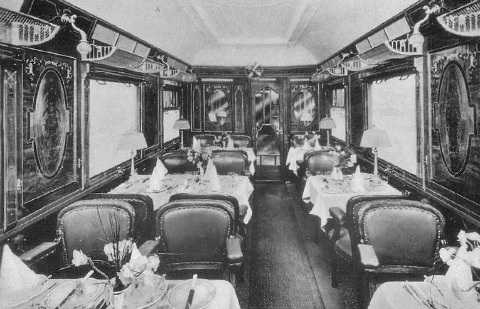Orient Express, dining car
