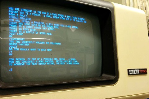 Colossal Cave Adventure screen