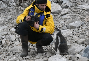 Me at Neko Harbour in Antarctica