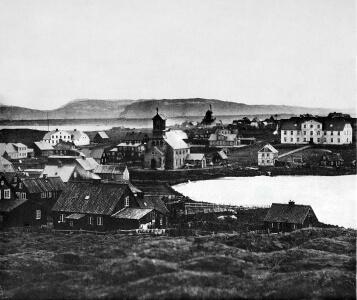 Reykjavík in the 1860s