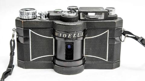 Widelux F7 panoramic camera