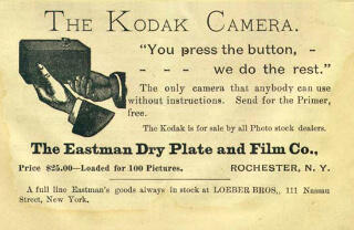 The Kodak camera advertisement
