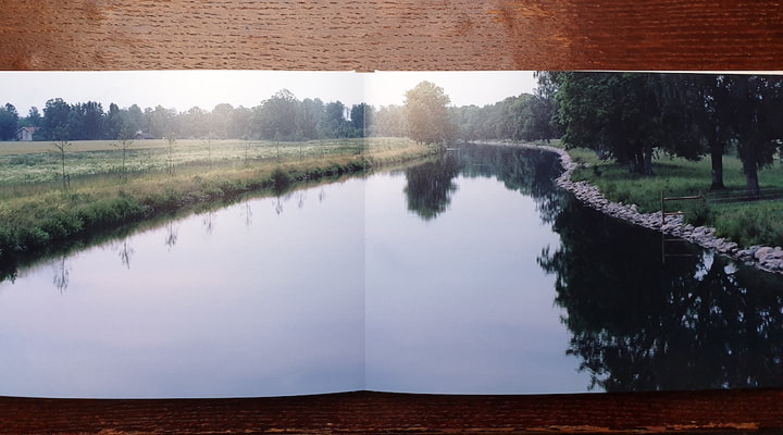 Page sample from Cross-Sweden photo book