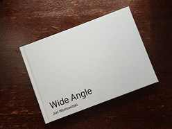 Wide Angle photo book cover