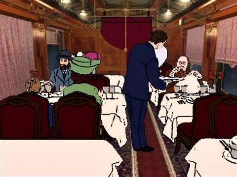The Last Express, dining car
