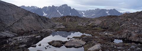 Captured sky, Greenland
