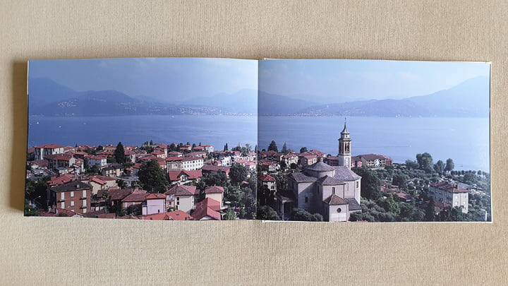 Panoramic view of Cannero, Lake Maggiore