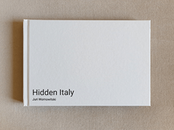 Hidden Italy photo book cover