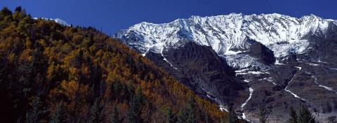 Kanjiroba massif in Upper Dolpo, Nepal