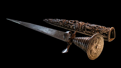 Antique dagger with sheath