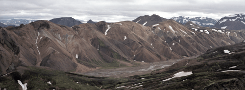 Mountains around Landmannalaugar, Iceland