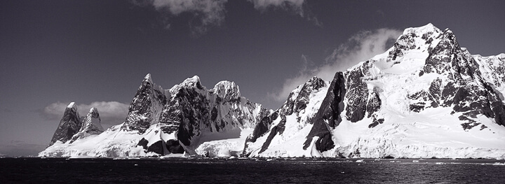 Entering Lemaire Channel, Antarctica