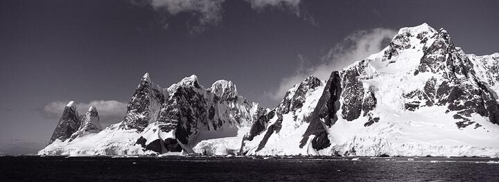 Entering Lemaire Channel, Antarctica