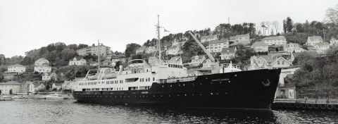 MS Nordstjernen in Farsund