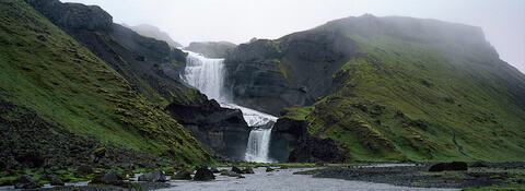 Ófærufoss, Highlands of Iceland