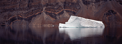 Iceberg reflection fine art print
